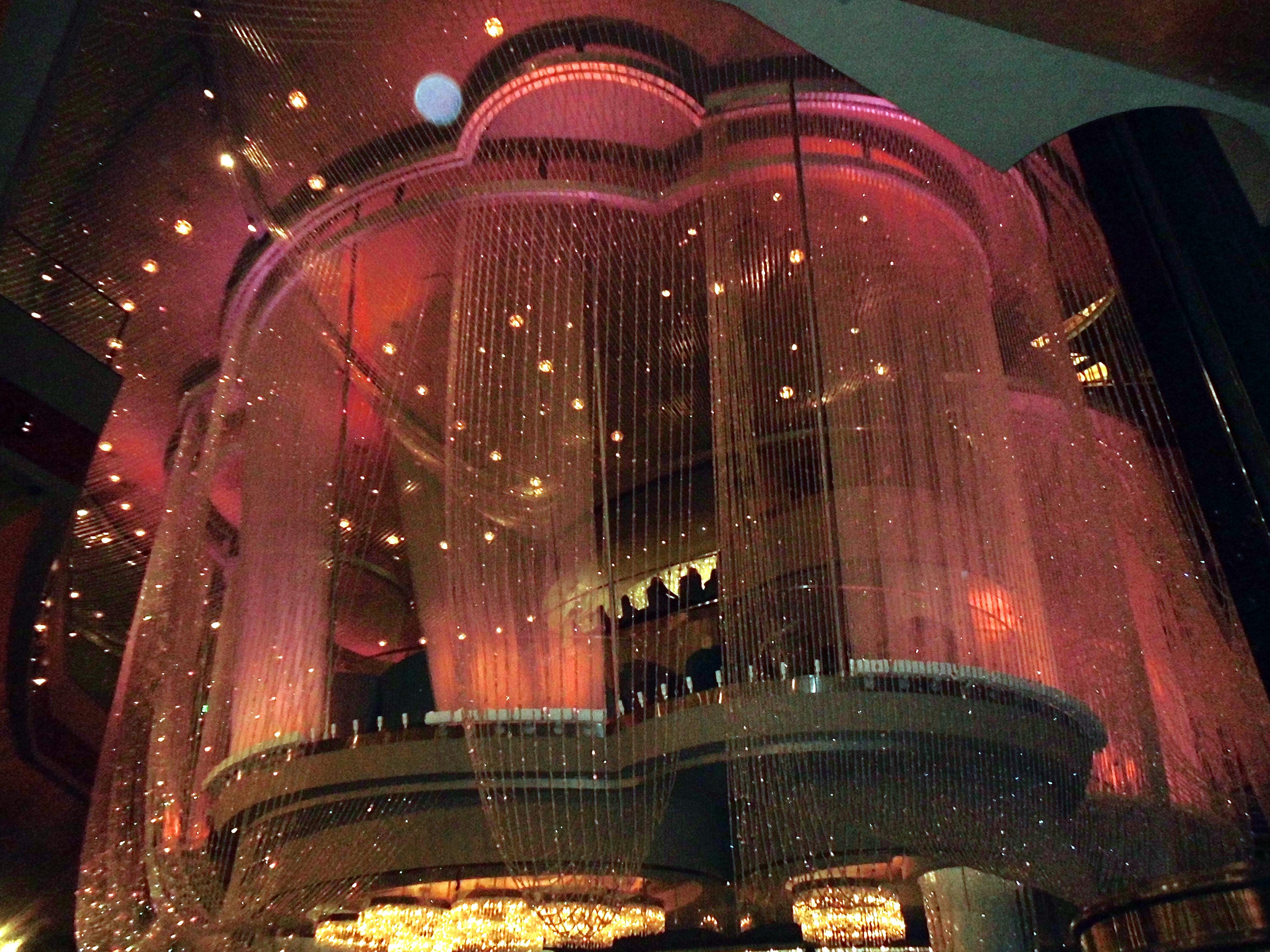 Cosmopolitan chandelier Las Vegas