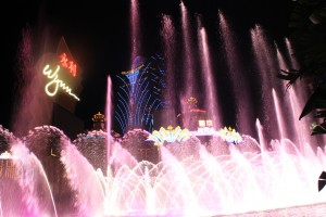 Wynn Macau China, fountain show