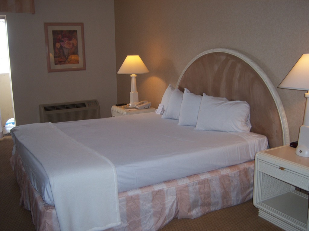 Imperial Palace bed Las Vegas