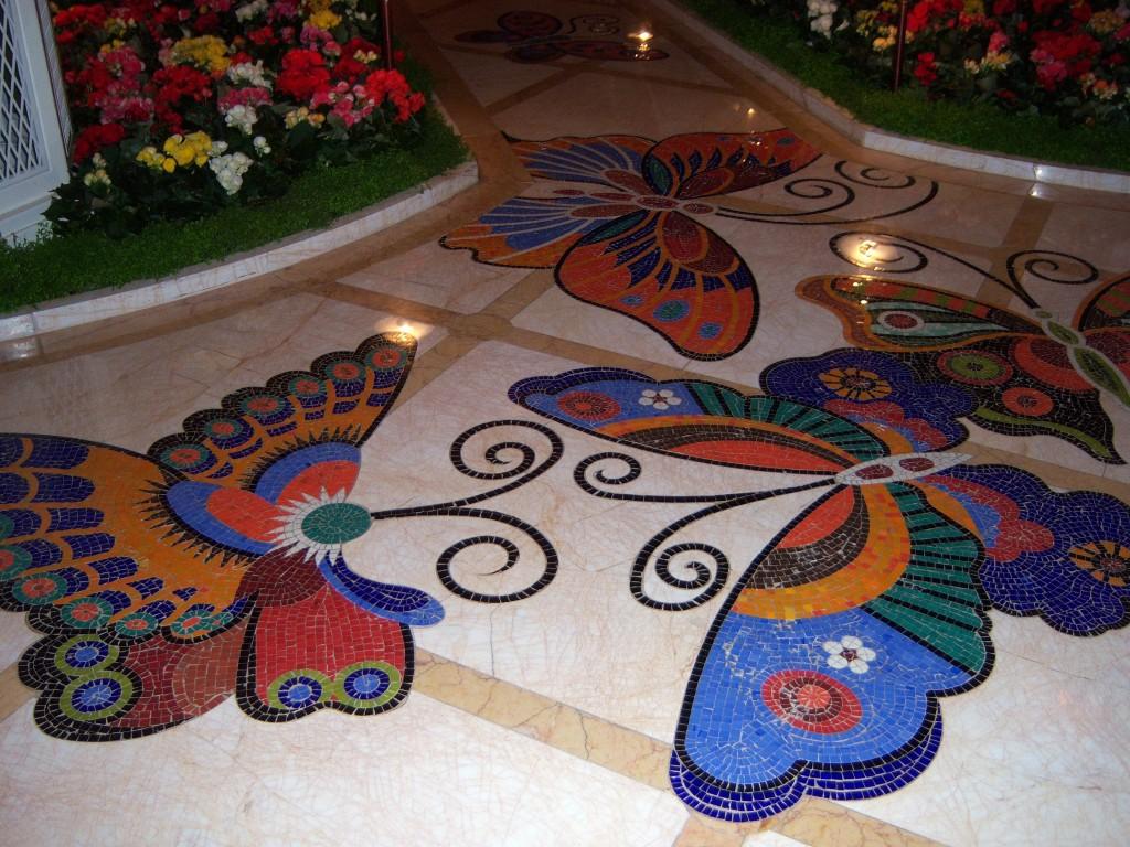 encore butterfly tiles