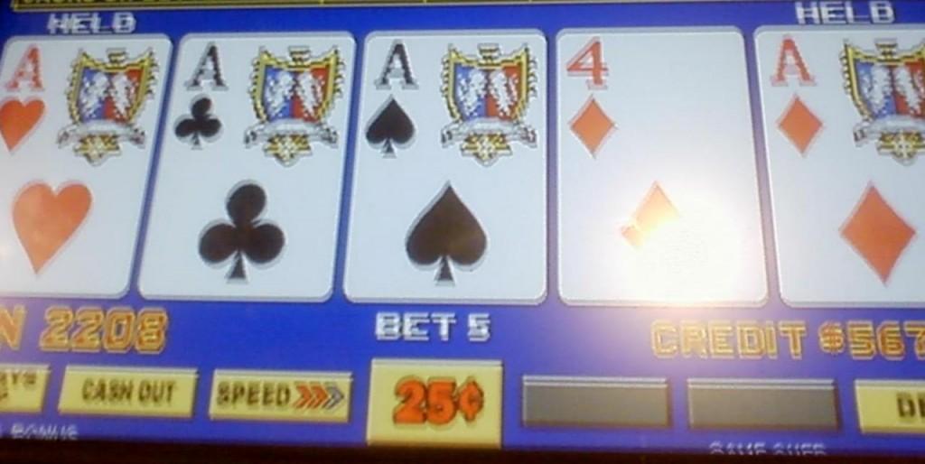quarter aces with kicker