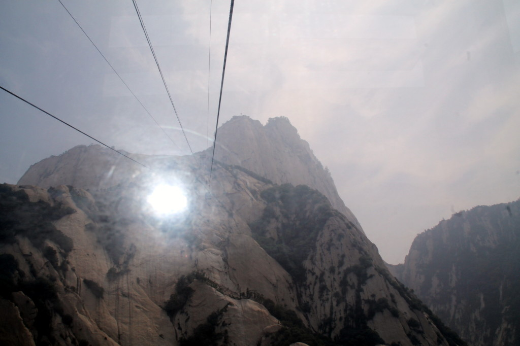 Huashan flying into the sun