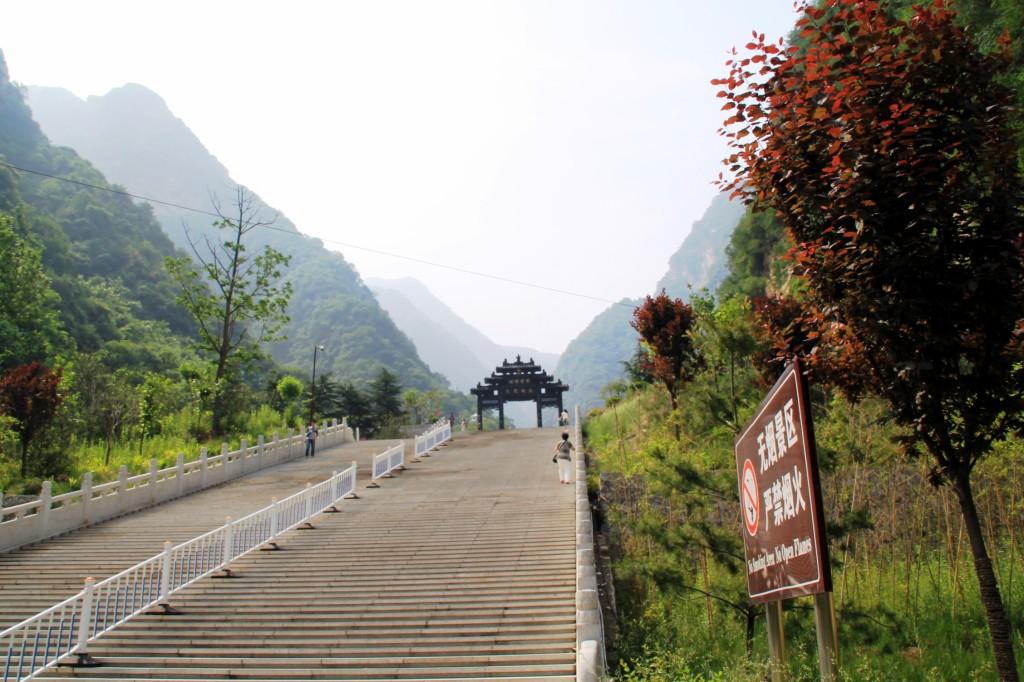 Mount Huashan climbing two