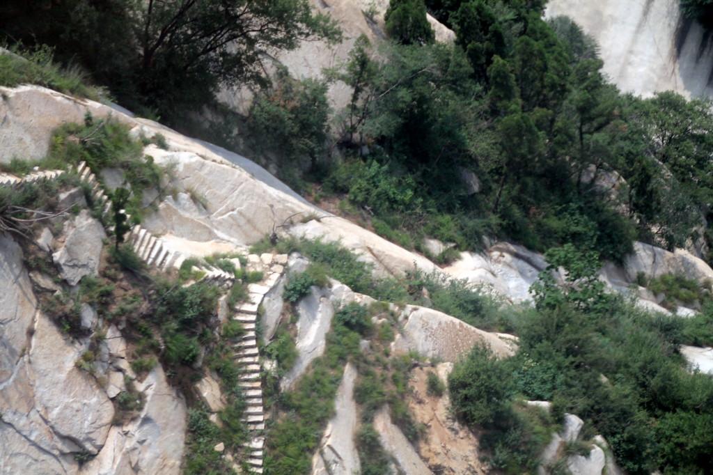 mount huashan steps