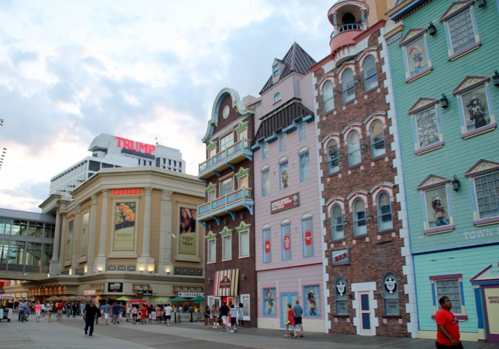 Atlantic City Boardalk Caesars Wild Wild West