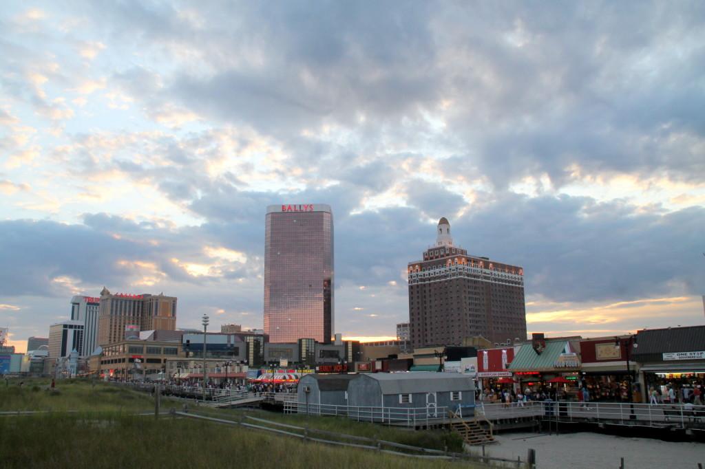 Caesars Ballys Claridge Atlantic City New Jersey