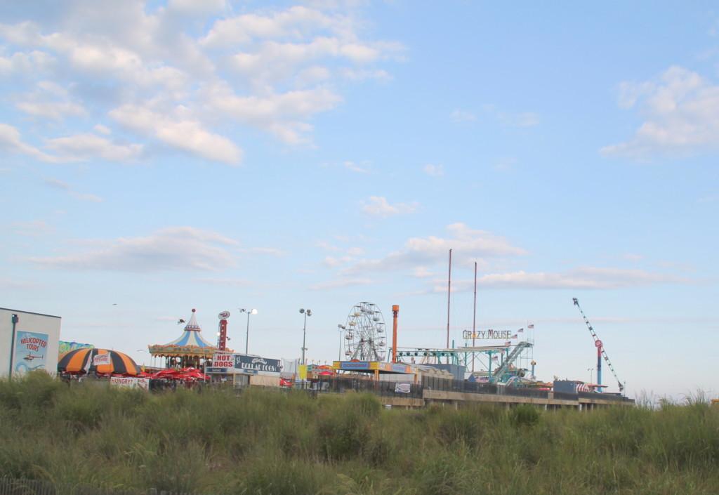 Steel Pier amusement park Atlantic City