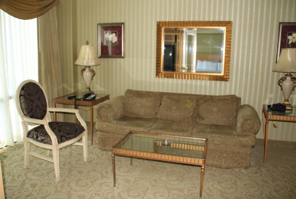 Tump Plaza suite living room