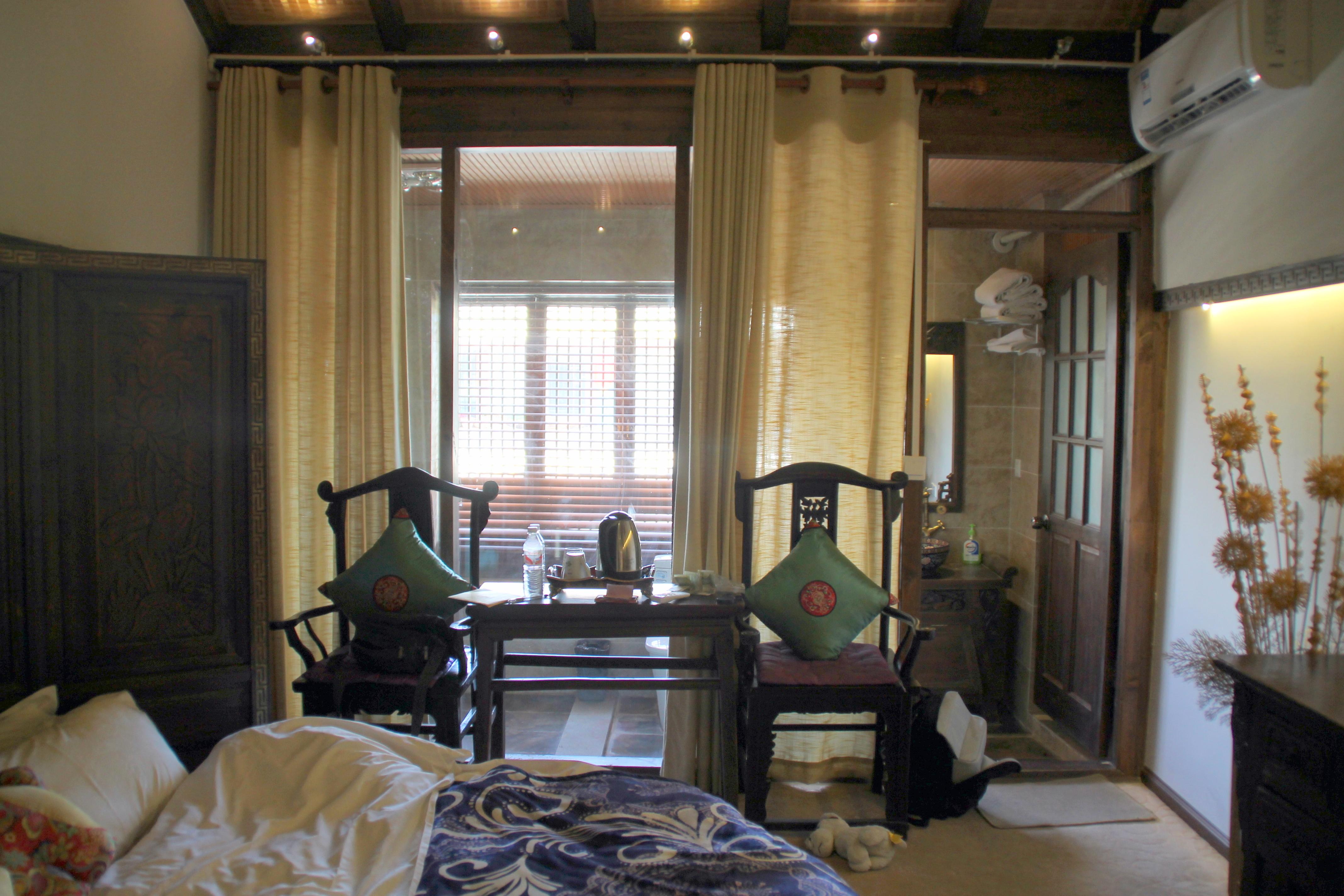 xi tang exquisite hotel lijiang window