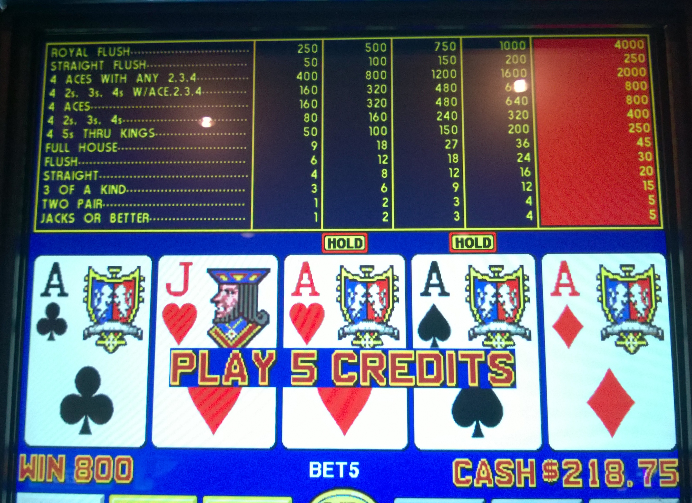 #5 Plaza Las Vegas Video Poker.It is also worth noting that Plaza Las Vegas recently upgraded all of its video poker machines, many of which now return over %.Its best game is 10/7/5 Double Bonus, which returns %.It also has 9/6 Bonus Poker Deluxe and 9/6 Jacks or Better.Both of these games are located at the bar, which is an added.