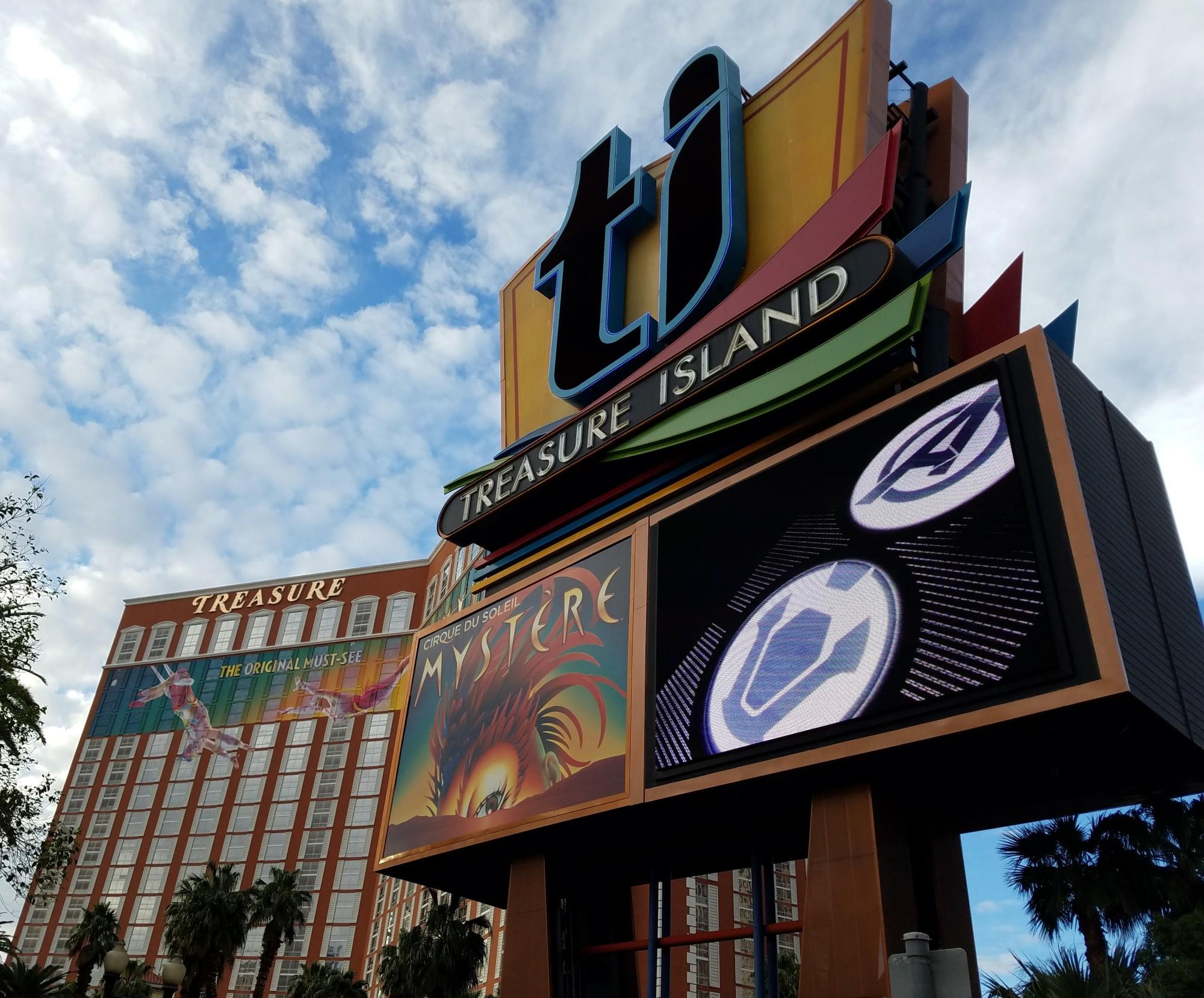 Treasure Island Las Vegas Address